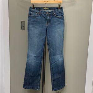 David Kahn Lauren straight leg Jeans
